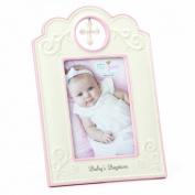 Nat and Jules Baby's Baptism Frame