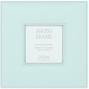 C.R. Gibson Square Leather Bound Photo Frame