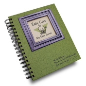 Baby Care, My Baby Journal - Avacado Hard Cover