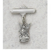 GUARDIAN ANGEL RF BABY PIN Sterling Silver