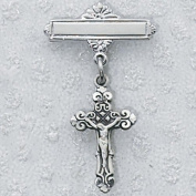 Sterling Silver CRUCIFIX BABY PIN