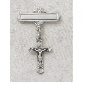 Sterling Silver CRUCIFIX RF BABY PIN