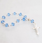 15cm Acrylic Pocket Rosary Bracelet Baptism
