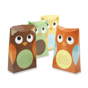 Kate Aspen Set of 24 Owl Favour Box, Whooo's Happy
