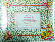 First Christmas - Baby's Keepsake Box