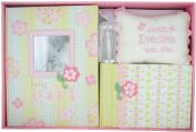 C.R. Gibson Anna Griffen 5 Pc. Baby Gift Set in Pink