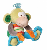 Happy Horse Fancy Baby Plush Doll, Monkey Mo