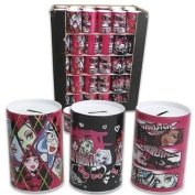 Monster High Tin Money Bank