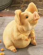 Poppycock Small Pig Sculpture Sculpture