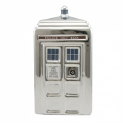 Doctor Who TARDIS 3-D Ceramic Silver Bank