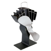 Caframo Ecofan UltrAir Heat Powered Stove Fan - Nickel Blade