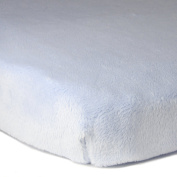 Luxe Basics So Softy Fitted Bassinet Sheet