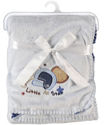 "Snugly Baby ""Little All Star"" Plush Blanket"