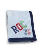 Roca Embroidered Boa Blanket