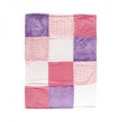 Hudson Baby Multi-Fabric 12-Panel Blanket