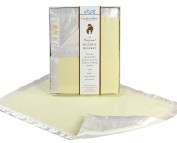 Yellow COMFORT SILKIE Security Blanket ~ The Original. The Best. Award Winning.