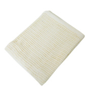 Baby Cellular Allergy Free 100% Cotton Large Cot/Crib Blanket
