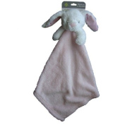 Blankets and Beyond Pink Bunny Rabbit Baby Security Blanket Nunu Lovey