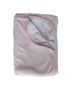 Noa Lily Reversible Blanket with Stripe