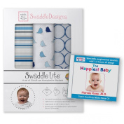 SwaddleDesigns Happiest Baby White Noise CD and Marquisette Swaddling Blanket
