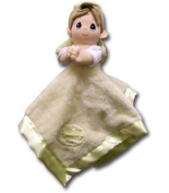 Precious Moments Praying Boy Baby Security Blanket - Yellow