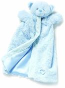 Nat & Jules Blue Bear Puppet Blanket