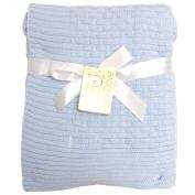 Baby Dove Brick Knit Blanket