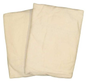 Cradle 2 Pack Value Jersey Ecru Fitted Sheet by American Baby Company