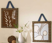 Tranquil Wall Art - Set of 2 - 25cm x 25cm