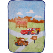 Disney Baby Bedding Cars Radiator Springs Luxury Plush Blanket