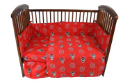 NC State 5 piece Baby Crib Set - NCSCS by College Covers