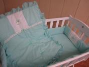 Baby Doll Bedding Gingham Port-a-Crib Bedding Set