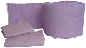Baby Doll Bedding Solid Colours Grandmas Port-a-Crib Package