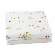 Auggie Rabbit Patch Crib Sheet