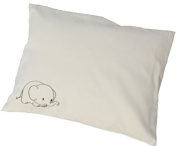 Certified Organic Toddler Pillow with Pillowcase 30cm x 41cm