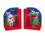 Orange Tree Toys Childrens Knight and Dragon Bookends