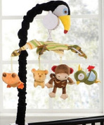 "Kids Line ""Rainforest Collection"" Musical Mobile - colours as shown, one size"