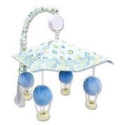 Trend Lab Dr. Seuss Blue Oh, the Places You'll Go! Baby Musical Mobile