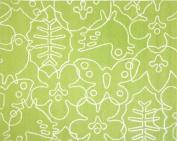 notNeutral Season Rug, White/Lotus Green, 1.2m by 1.5m