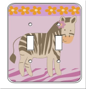 Giraffe Monkey Jungle Single Toggle Light Switchplate Cover
