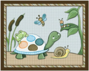 Pond Friends Wiggle Bugs Nursery Art Prints
