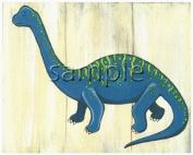 Dinosaur Kids/boys Nursery Wall Art Prints