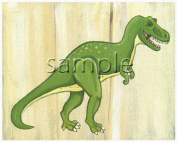 Dinosaur Kids/boys Nursery Wall Art Prints