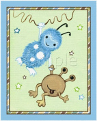 Peek a Boo Monsters Nursery Art Prints