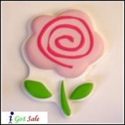 Sweetheart Flower 3D Design Decorative Wall Art