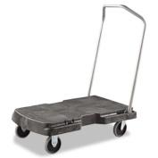 Triple Trolley, 500-lb Cap, 20-1/2w x 32-1/2d x 7h, Black