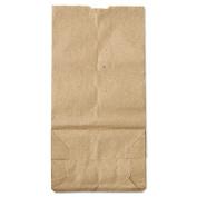 2# Paper Bag, 30lb Kraft, Brown, 4 5/16 x 2 7/16 x 7 7/8, 500/Pack