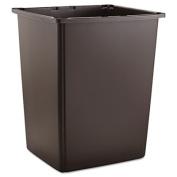 Glutton Container, Rectangular, 56gal, Brown