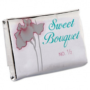 Face and Body Soap, Foil Wrapped, Sweet Bouquet Fragrance, .5oz Bar, 1000/Carton