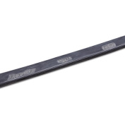 "ErgoTec Replacement Squeegee Blades, 18"" Wide, Black Rubber, Hard"